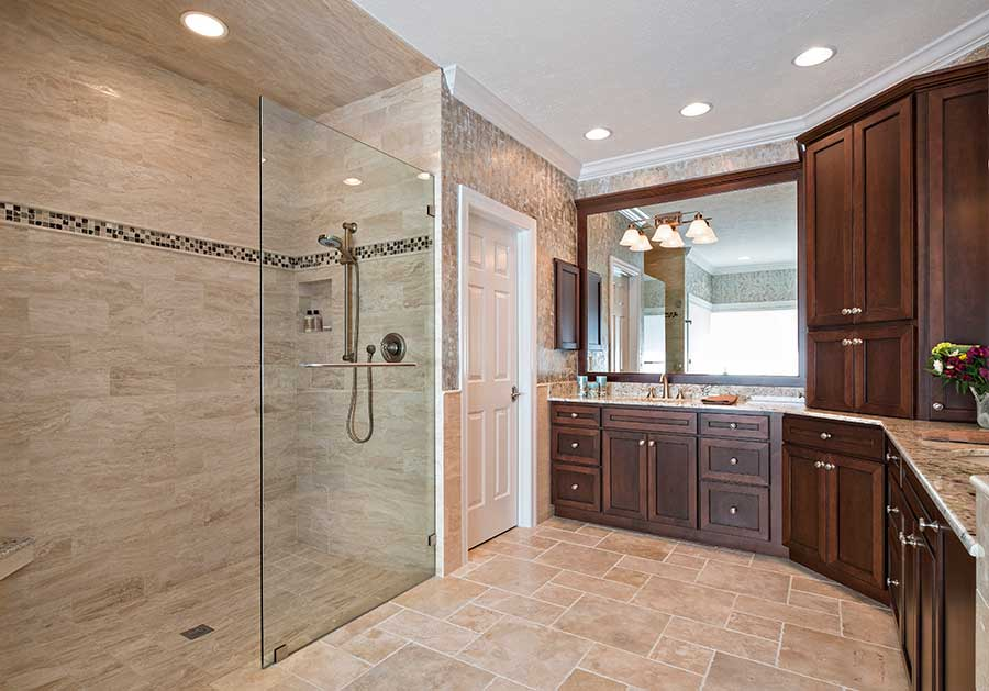 Large Bathroom Remodeling